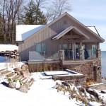 Lake Simcoe Boathouse Main Entrance