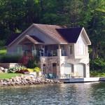 Lake Simcoe Boathouse Side
