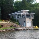 Shanty Bay Boathouse Side