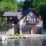 Shanty Bay Residence Boathouse