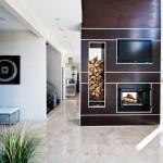 Springwater Residence Fireplace