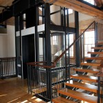 Gibson Cultural Centre Stairs and Elevator