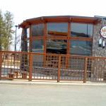 Mnjikaning First Nation Nii Jii Cafe Patio